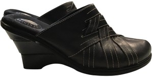 Dr. Scholl's Wedge Black Mules