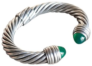 David Yurman David Yurman 10mm Green Onyx Bracelet