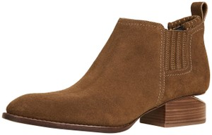 Alexander Wang Cut-out Suede Hollywood Party Dark Truffle Boots