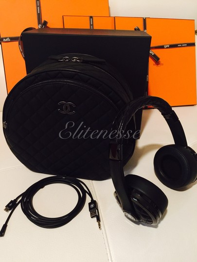 Chanel Chanel X Monster Headphones w/ Bag Karl Lagerfeld *RARE* LIMITED EDITION