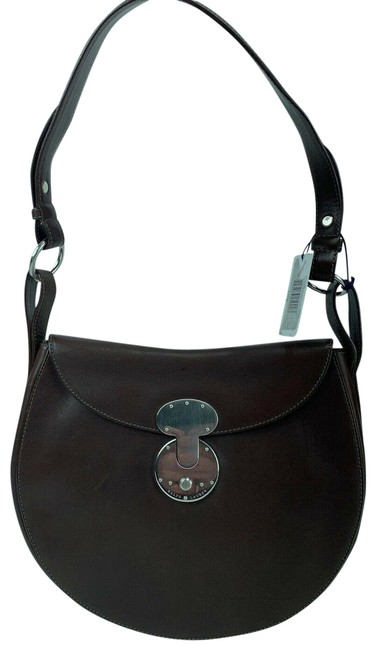 Item - Ricky Flap 872173 Brown Leather Satchel