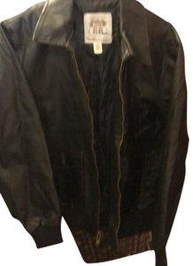 Route 66 Brown Leather Jacket