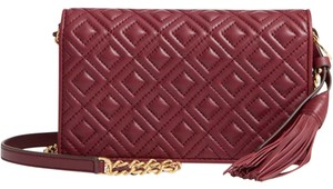 Tory Burch Chain Wallet Fleming Quilted Cross Body Bag