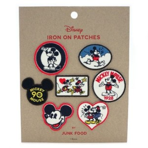 Junk Food Junk Food Mickey Mouse Patch Set 7ct