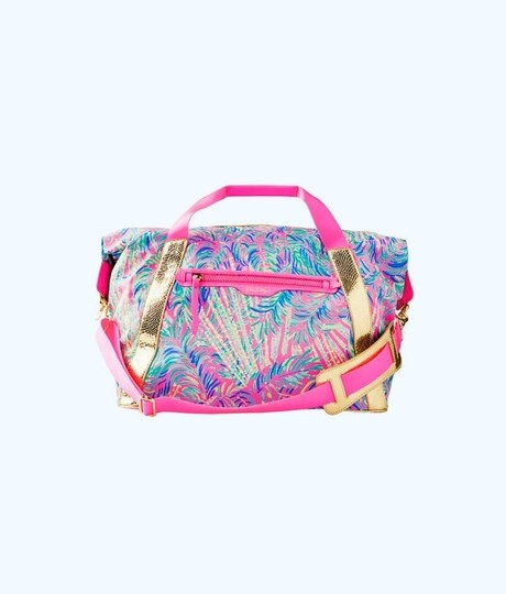 Lilly Pulitzer pink, gold Travel Bag Image 3