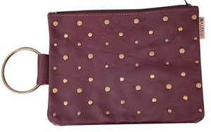 Mayko Party Leather Designer Israel Red Studded Studded Leather Studded Womens With Handle Leather Red Leather Burgundy Clutch