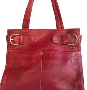 Christopher Kon Large Nwot Tote in Red
