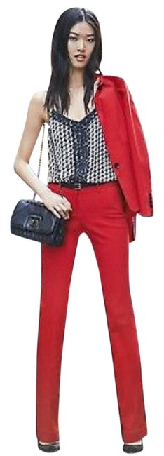 Item - Red Barely Editor 00r Pants Size 00 (XXS, 24)