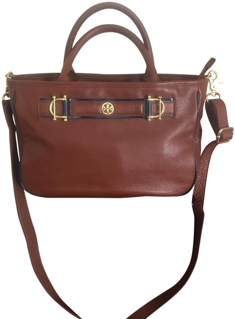 Item - Golden Brown Lambskin Leather Cross Body Bag