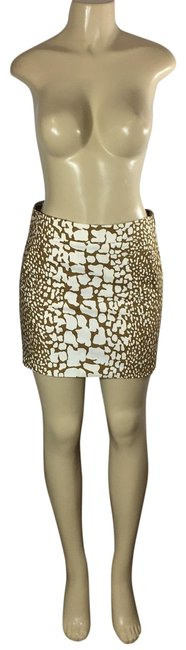 Item - Beige and Ivory Nice Skirt Size 2 (XS, 26)