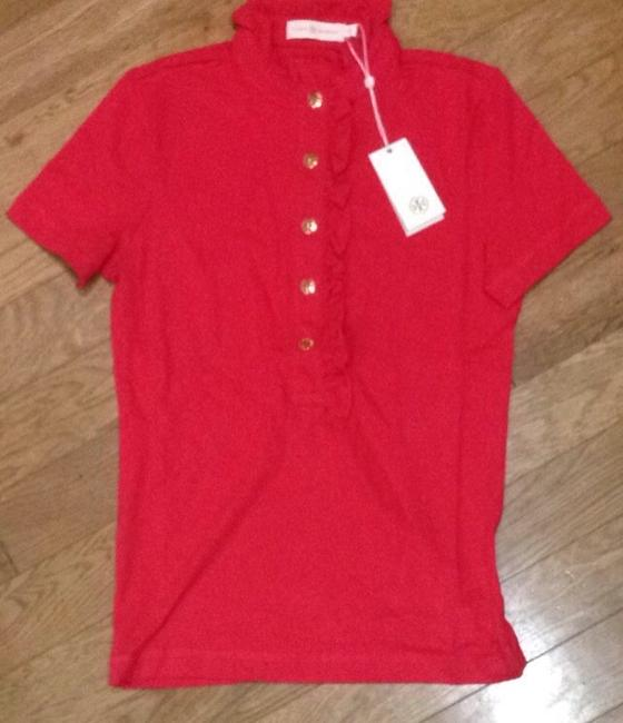 Preload https://item1.tradesy.com/images/tory-burch-carnival-lidia-polo-new-button-down-top-size-8-m-2688700-0-0.jpg?width=400&height=650