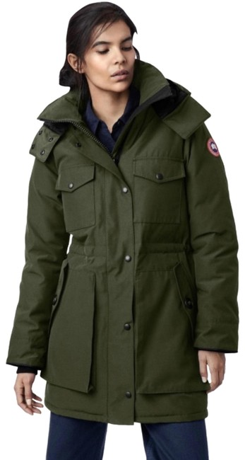 Item - Military Green Gabriola Parka Coat Size 0 (XS)