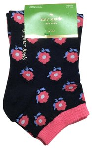 Kate Spade Flower No Show Ankle Socks