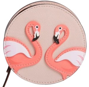 Kate Spade Authentic Kate Spade leather Flamingo coin purse case