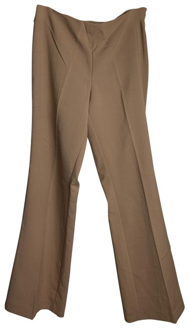 Lexico Fashion Khakis Creme Bell Zip Up Slacks Pants Size 12 (L, 32, 33) Lexico Fashion Khakis Creme Bell Zip Up Slacks Pants Size 12 (L, 32, 33) Image 1