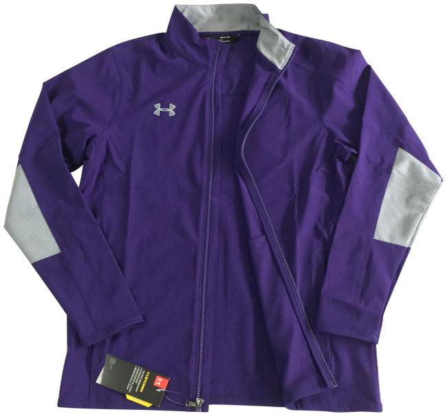 Item - Purple Charger Squad Woven Warm-up Activewear Outerwear Size 6 (S)