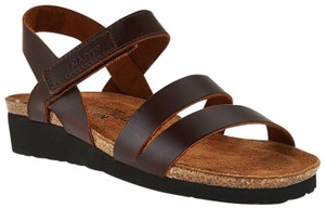 Naot Cross-strap Brown Sandals