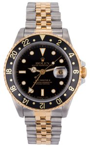 Rolex Rolex GMT Master II 18k 750 Yellow Gold & Stainless Steel Automatic Mens Watch