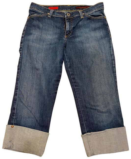 Item - Blue Medium Wash The Shorty Boot Cut Jeans Size 8 (M, 29, 30)