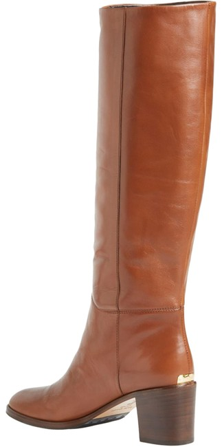 Item - Brown/Cogniac Mireille Tall Leather Boots/Booties Size US 8 Regular (M, B)