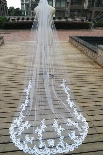 Long Cathedral 3m/10ft 1t White Or Ivory Bridal Veil Image 5