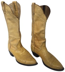 Larry Mahan yellow Boots