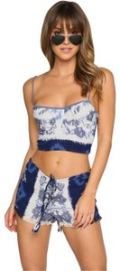 Indah Mini/Short Shorts Ikat Blue