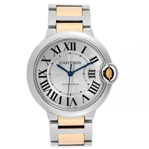 Cartier Ballon Bleu Silver Dial Quartz Unisex Watch W2BB0012