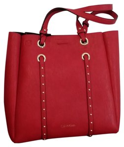 Calvin Klein Tote in Red