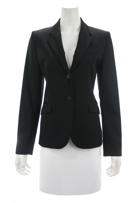 Item - Black Wool Blazer Size 8 (M)