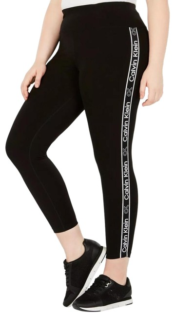 Preload https://img-static.tradesy.com/item/26894998/calvin-klein-black-logo-striped-activewear-bottoms-size-20-plus-1x-0-1-650-650.jpg