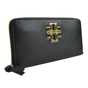 Tory Burch Britten Zip Continental Zip Around Wallet