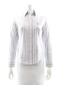 Ralph Lauren Button Down Shirt purple