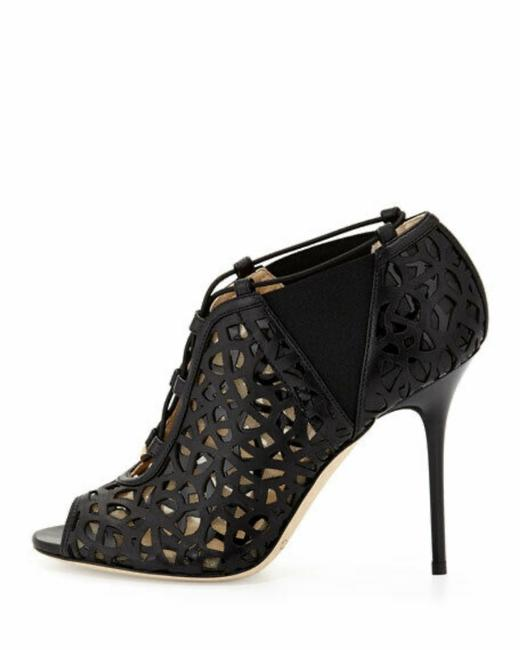 Item - Black Tactic Napa Leather Lace-up Cutout Boots/Booties Size EU 38.5 (Approx. US 8.5) Regular (M, B)