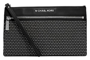 Michael Kors Leather; Guaranteed Your Money Back Black Clutch