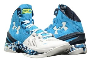 Under Armour blue and white Athletic