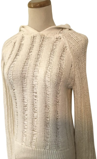 Item - Cotton Hooded S. Nwot Ivory Sweater