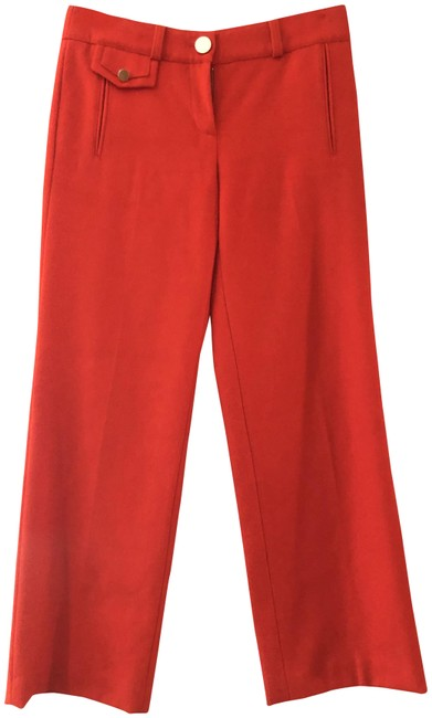 Item - Orange Wool Sz: 0 Pants Size 0 (XS, 25)