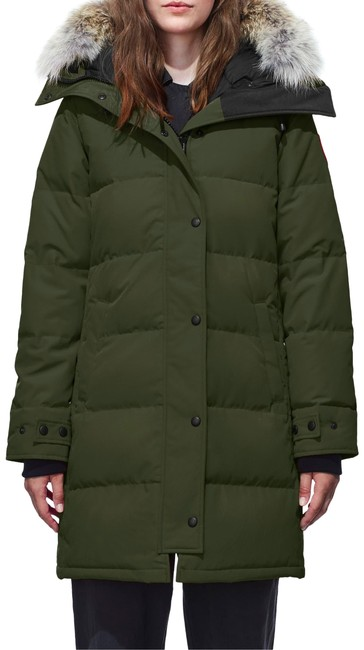 Item - Green Women's Shelburnne Black Label Parka Coat Size 4 (S)
