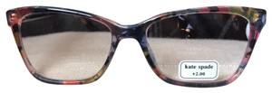 Kate Spade Kate Spade reading glasses new with tag no case strength 2 and 2.5 avail