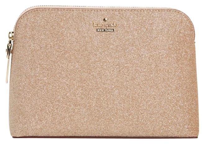 Item - Rose Gold Glitter Burgess Court Briley Cosmetic Bag