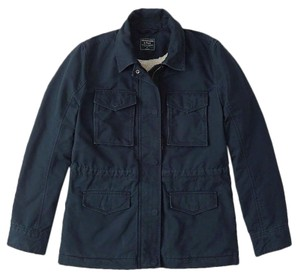 Abercrombie & Fitch Sherpa Jacket Pea Coat