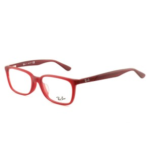 Ray-Ban RB5332D55115417145 Matte Red Acetate 54 17 145 Authentic