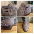 Matisse Taupe/Gray 'bobbie' Buckle Burnished Boots/Booties Size US 9.5 Regular (M, B) Matisse Taupe/Gray 'bobbie' Buckle Burnished Boots/Booties Size US 9.5 Regular (M, B) Image 6