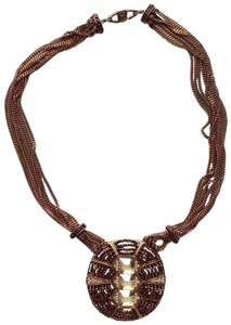 Givenchy Tribal Pendant Necklace