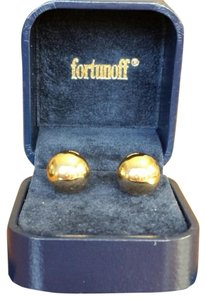 Fortunoff Fortunoff 14K Yellow Gold Bead Studs 12mm