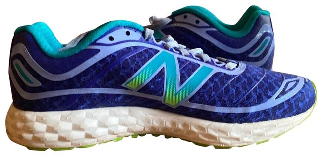 Item - Blue/Teal Running Course Sneakers Size US 6.5 Regular (M, B)