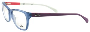 Ray-Ban RB529855515317135 Blue/Purple/Pink/White Acetate 53 17 135
