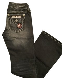 Affliction Boot Cut Jeans-Acid