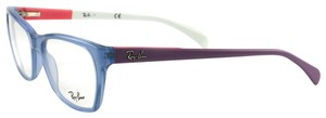 Ray-Ban RB529855515517140 Nvy Lilac Fuscia Acetate 55 17 140 Authentic